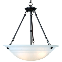 Design Classics Lighting Energy Star Qualified Three-Light Pendant 4605ES-30