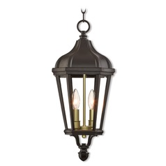 Livex Lighting Morgan Bronze Outdoor Hanging Light