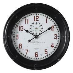 Uttermost Philly Wall Clocks