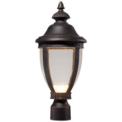 Minka Lighting Wynterfield Burnt Rust LED Post Light