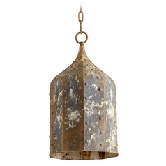 Cyan Design Collier Rustic Mini-Pendant Light with Bowl / Dome Shade