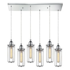 Elk Lighting Fulton Polished Chrome Multi-Light Pendant