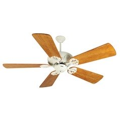 Craftmade Lighting Cordova Antique White Ceiling Fan Without Light