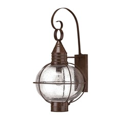 Hinkley Lighting Capecod Sienna Bronze LED Outdoor Wall Light