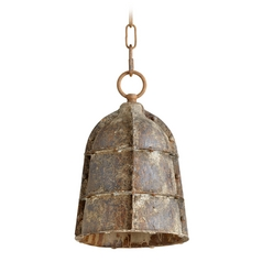 Cyan Design Rusto Rustic Mini-Pendant Light with Bowl / Dome Shade