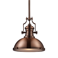 Pendant Light in Antique Copper Finish