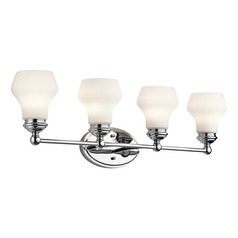 Kichler Lighting Currituck Chrome Bathroom Light