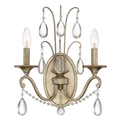 Traditional Sconce Gold Regent by Quoizel Lighting