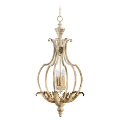 Quorum Lighting Florence Persian White Pendant Light
