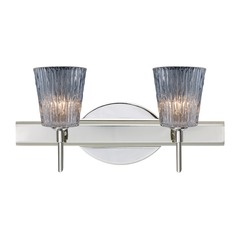 Besa Lighting Nico Chrome LED Bathroom Light