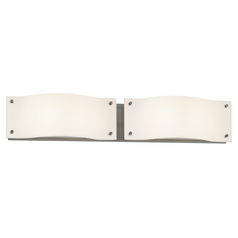 Sonneman Lighting Oceana Satin Nickel LED Bathroom Light