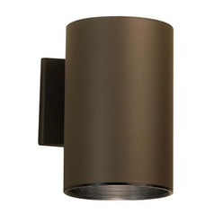 Kichler Lighting Kichler Cylindrical Outdoor Wall Light with LED Bulb  9236AZ/8W LED