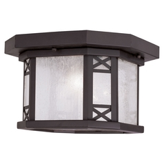 Livex Lighting Tahoe Bronze Close To Ceiling Light