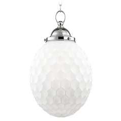 Columbia 1 Light Pendant Light - Polished Nickel