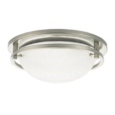 Sea Gull Eternity Brushed Nickel LED Flushmount Light
