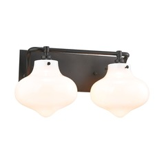 Elk Lighting Kelsey Oil Rubbed Bronze Bathroom Light