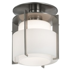 Sonneman Pool Satin Nickel Semi-Flushmount Light