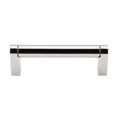 Modern Cabinet Pull in Polished Nickel Finish