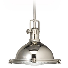 Kichler Nautical Pendant Light with Fresnel Diffuser - 12-Inches Wide