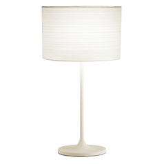 Adesso Home Lighting Oslo White Table Lamp