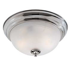 Livex Lighting Regency Chrome Flushmount Light