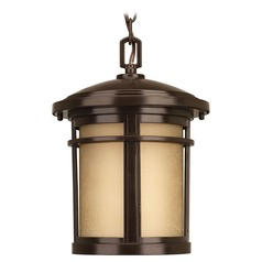 Progress Lighting Wish Antique Bronze Outdoor Hanging Light