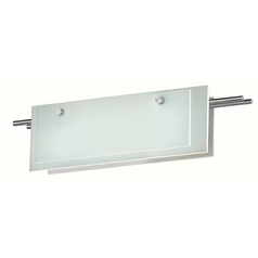 Sonneman Lighting Suspended Satin Nickel LED Bathroom Light