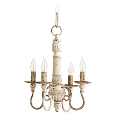 Quorum Lighting Salento Persian White Mini-Chandelier