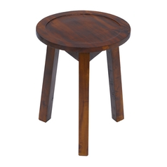 Sterling Lighting Natural Stain on Mahogany Barstool