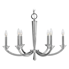 Hinkley Hendrick 6-Light Chandelier in Chrome