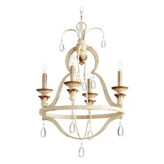 Quorum Lighting Venice Persian White Mini-Chandelier