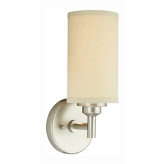 Fabric Shade Sconce