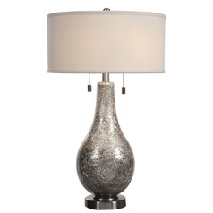 Uttermost Saracena Mercury Glass Lamp