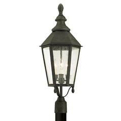 Troy Lighting Savannah Vintage Iron Post Light