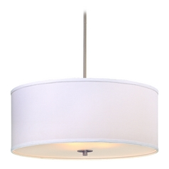 drum pendant lighting. Large Modern Drum Pendant Light With White Shade Lighting Destination