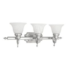 Livex Lighting French Regency Brushed Nickel Bathroom Light