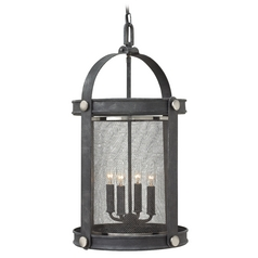 Hinkley Lighting Holden Aged Zinc Pendant Light