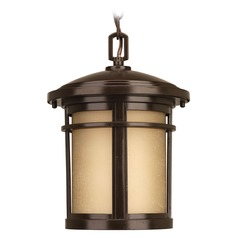 Progress Lighting Wish LED Antique Bronze LED Outdoor Hanging Light