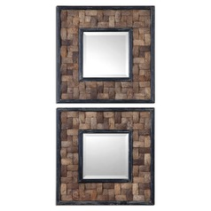 Uttermost Barros Squares Set of 2 Mirror