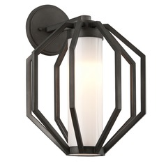 Troy Lighting Boundary Textured Graphite LED Outdoor Wall Light
