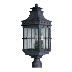 Maxim Lighting Nantucket Country Forge Post Light