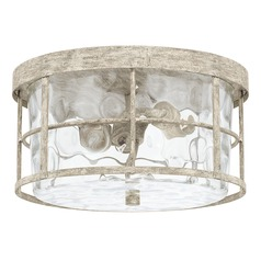 Capital Lighting Beaufort Mystic Sand Flushmount Light