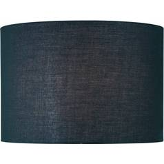 Black Drum Lamp Shade With Spider Embly