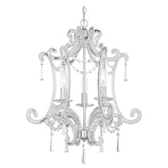Minka Mini Chandeliers Chrome Mini-Chandelier