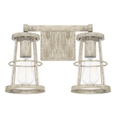 Capital Lighting Beaufort Mystic Sand Bathroom Light