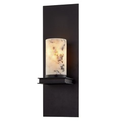 Troy Lighting Catalonia Textured Black Sconce
