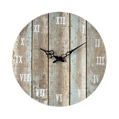 Sterling Lighting Belos Light Blue Clock