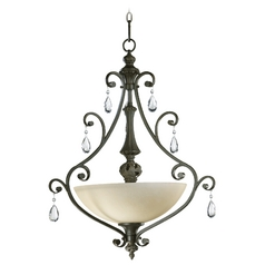 Quorum Lighting Fulton Classic Bronze Pendant Light