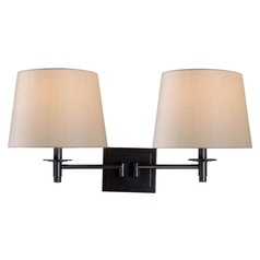 Kenroy Home Glenn Oil Rubbed Bronze Swing Arm Lamp