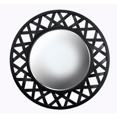 Heltor Round 34-Inch Decorative Mirror by Kenroy Home